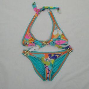 Trina Turk Floral Print Bikini